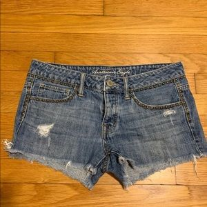 American Eagle Studded Jean Shorts 4